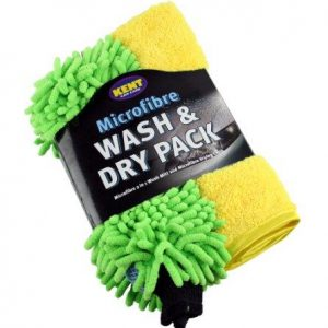 Kent Q2459 Microfibre Wash and Dry Pack – Colors May Vary